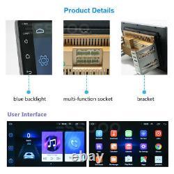 10.1 2 Din Android 9.1 Car Stereo MP5 Player GPS Sat Navi WIFI + Backup Camera