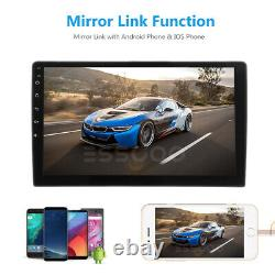 10.1 2 Din Android 9.1 Car Stereo MP5 Player Radio GPS Quad Core WiFi USB 2+16G