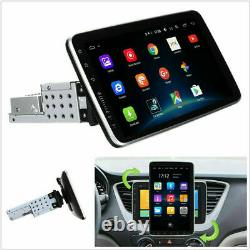 10 Rotatable Screen 1 Din Android 9.1 Car Stereo Radio GPS Player BT WIFI 1+16G