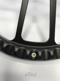 14 Black Steering Wheel (Black Half Wrap, Chevy Horn Button, Adapter A01)