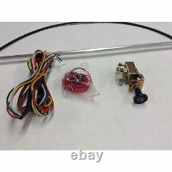 1947-59 Chevy Pickup Truck Wiper Kit w Wiring Harness cable drive hood hot rod