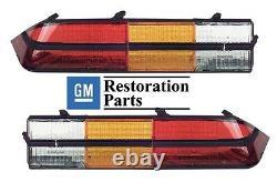 1978 1979 1980 1981 Chevrolet Camaro Z28 Tail Light / Lamp Lens Set Pair 80 81