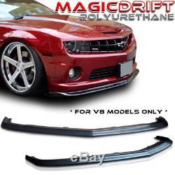 2010 2011 2013 Chevy Camaro V8 Ss Urethane Front Lip Spoiler Zl1 Style Pu Pp Slp