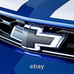 2016-2018 Camaro Illuminated Black Front & Rear Bowtie Emblem Kit 23393028