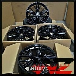 20 Satin Black Wheels Rims Fits Chevrolet Camaro SS RS LS Z28 ZL1 20x10 / 20x11