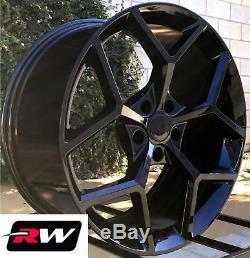 20 x9 / 20 x10 inch Wheels for Chevy Camaro 2010-2019 Gloss Black Z28 Rims
