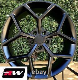 20 x9 / 20 x10 inch Wheels for Chevy Camaro 2010-2021 Matte Black Z28 Rims