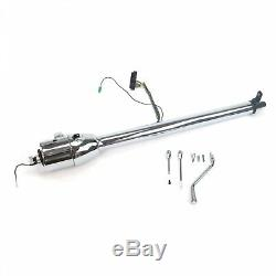 33 Inch Chrome Gm Style Tilt Steering Column Automatic Shift With No Key