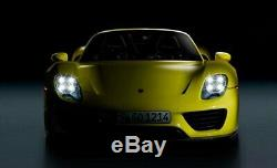 3.0 H1 Bi-Xenon Projector Lens For Headlights with Porsche Style 4-LED DRL Shroud