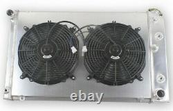 3 Row Radiator Shroud Fan For Chevy Camaro 1970-1981/ Monte Carlo 78-1987 G-Body