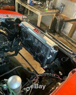 3 Rows Aluminum Radiator Shroud fan fit Chevy Camaro 70-81/ Monte Carlo 78 79-87