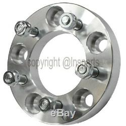 (4) 1 5x120 to 5x114.3 Wheel Adapters 12x1.5 Studs 25mm Thick 5x4.75 to 5x4.5