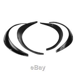 4xArrival Car Black Polyurethane Flexible Exterior Fender Flares Store