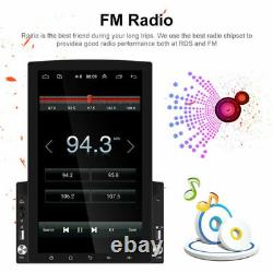 9.7 Inch Vertical Car Stereo Radio Android 10 2DIN FM Touch Screen GPS Bluetooth