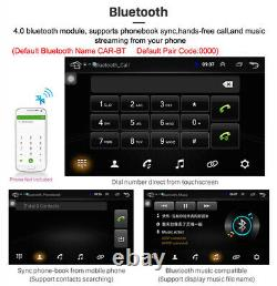 Android 8.1 9 In 1Din Car Stereo Radio HD Mp5 Player Touch Screen Radio GPS Wifi