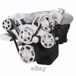 BBC Serpentine Pulley Conversion Kit Big Block Chevy 454 396 AC A/C SWP Air