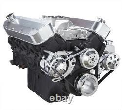 Big Block Chevy Serpentine Conversion Kit Power Steering BBC System 396 427 454