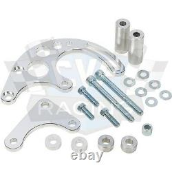 Big Block Chevy Serpentine Pulley Conversion Kit Air Conditioning 454 LWP BBC
