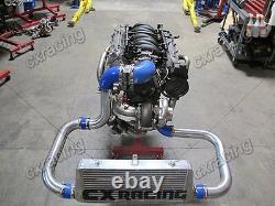 CXRacing T76 Turbo Manifold Header Kit For 98-02 Chevrolet Camaro LS1 Motor NA-T
