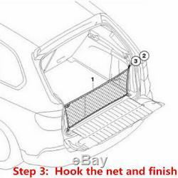 Car Accessories Rear Cargo Organizer Storage Elastic String Net Pocket Trunk