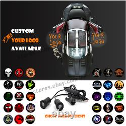 Car Door Welcome Customize Your Logo Projector Laser LED Ghost Shadow Step Light