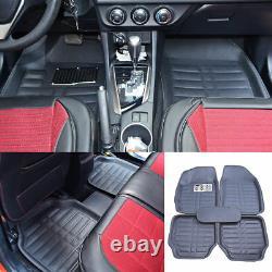 Car Floor Mats Front & Rear Liner Waterproof All Weather 5pc Universal Auto Mat