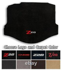 Chevrolet Camaro Z28 Classic Loop Carpet Trunk Mat Choice of Color & Logo