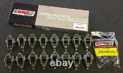 Chevrolet Rocker Arms Set with Comp Cams Trunion Kit Installed for Gen III LS