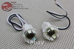 Chevy GM Plastic Tail Light Lamp Sockets Wiring Park Backup Brake Turn Signal