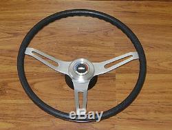 Comfort Grip Steering Wheel Kit Black Cushion 3-spoke 67-72 Pickup Truck Pick Up