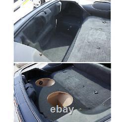 Custom Car Chevy Camaro 93-02 Dual 12 Subwoofer Enclosure Bass Speaker Sub Box
