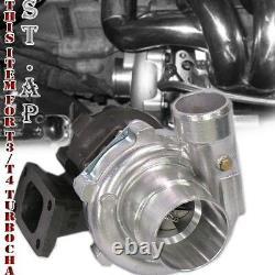 Diy Jdm T3 T3/T4 Turbo Charger Turbine. 63 Ar Trim 5 Bolt Downpipe Flange 300Hp
