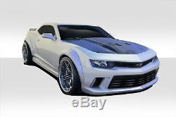 Duraflex GT Concept Wide Body Kit 8 Piece For Camaro Chevrolet 14-15 ed 109
