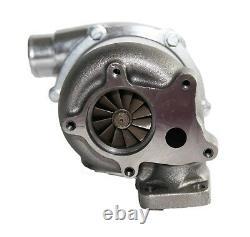EMUSA Billet Wheel T3/T4 Hybrid Turbo Charger. 50 A/R Compressor. 63 A/R Turbine