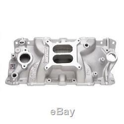 Edelbrock 2701 SBC Performer EPS Aluminum Intake Small Block Chevy 305 327 350