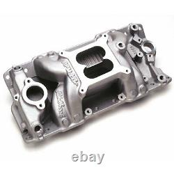 Edelbrock 7501 RPM Air-Gap Intake Manifold 1955-86 Small Block Chevy 262-400