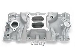Edelbrock Performer EPS Intake Manold Chevy S283 327 350 Fits Stock Heads 2701