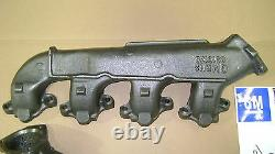Exhaust Manifolds BB 67 68 69 70 Camaro GM License 68-70 Chevelle Nova big block