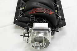 FAST 92mm LSX Black Intake Manifold with Nick Williams Throttle Body LS1/LS6/LS2