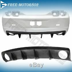 Fit 10-13 Chevy Chevrolet Camaro Oe Style Rear Bumper Lip Diffuser Polyurethane