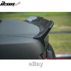 Fits 10-13 Chevrolet Camaro Ikon Style Duckbill Type Trunk Spoiler Wing Black PP