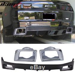 Fits 10-13 Chevy Camaro Ground Effect ZL1 OE Rear Bumper Lip Spoiler