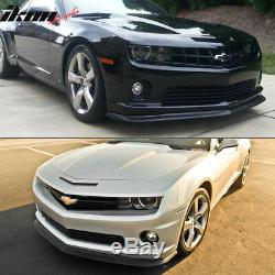 Fits 10-13 Chevy Camaro SS 2Dr ZL1 Style Front Bumper Lip Spoiler Urethane PU