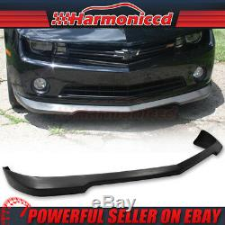 Fits 10-13 Chevy Camaro V6 Poly Urethane Front Bumper Lip Spoiler SS Style
