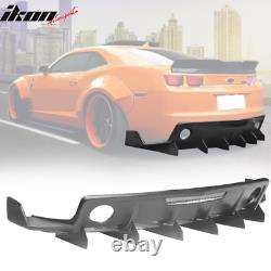Fits 10-15 Chevrolet Camaro ZL1 MB Style Rear Diffuser Bumper Cover PP