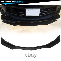 Fits 16-18 Chevy Camaro 2Dr ZL1 Style Front Bumper Lip Spoiler PP