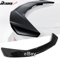 Fits 16-20 Chevy Camaro ZL1 Style Trunk Spoiler Glossy Black ABS