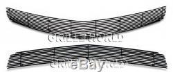Fits 2010-2013 Chevy Camaro SS V8 Phantom Style Black Billet Grille Combo