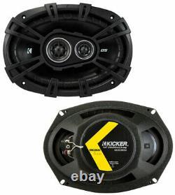 Fits Chevy Camaro 2010-2014 Factory Speaker Upgrade Kicker DSC67 DSC693 Package