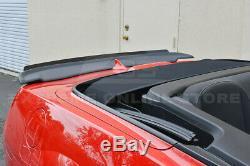 For 10-13 Camaro ALL ZL1 Style Rear Trunk Lid Wing Spoiler Wickerbill Insert